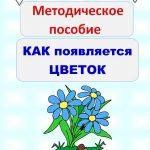 """И. В. Гурина. Методическое пособие """"Как появляется цветок"""". Издание для незрячих и слабовидящих"""