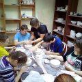лепка глины для керамических изделий в Интеграции