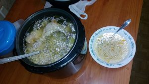 Наш первый суп